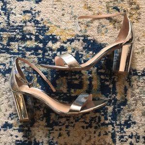 11b3f1ca58c5 SCHUTZ Shoes - Schutz Anna Lee Block Heel Silver 7.5